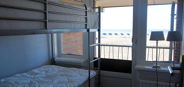 strandappartement_katwijk_3pk_slaapkamer